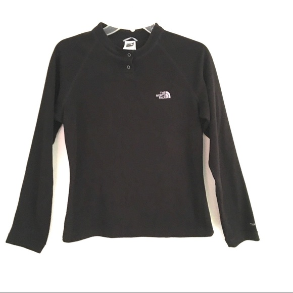The North Face Tops - The North Face snap neck, pull over sweatshirt M